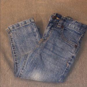 Toddler boy blue jeans